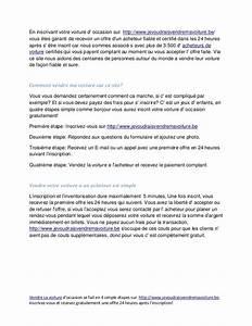 Quel Papier Pour Vendre Sa Voiture : vendre sa voiture pour les festivites ~ Maxctalentgroup.com Avis de Voitures
