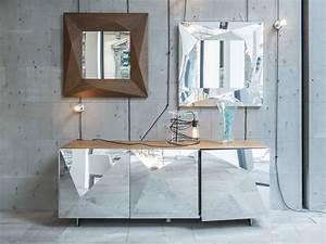 Spiegel Im Wohnzimmer : cubric madia by riflessi design riflessi ~ Michelbontemps.com Haus und Dekorationen
