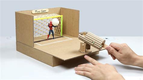 desktop soccer game  cardboard youtube