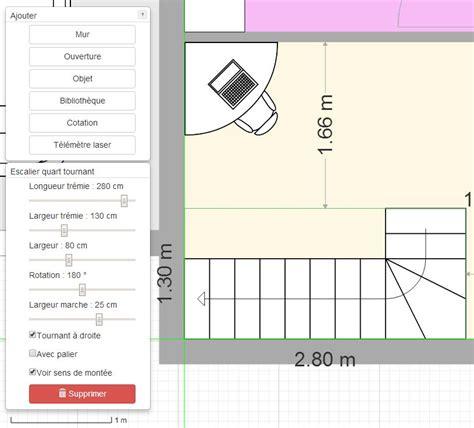 logiciel calcul escalier quart tournant gratuit plan de maison et plan d appartement gratuit logiciel archifacile