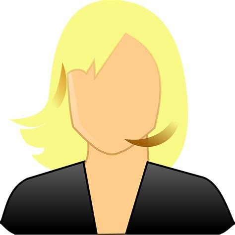 Free Vector Graphic User, Avatar, Female, Blond, Girl