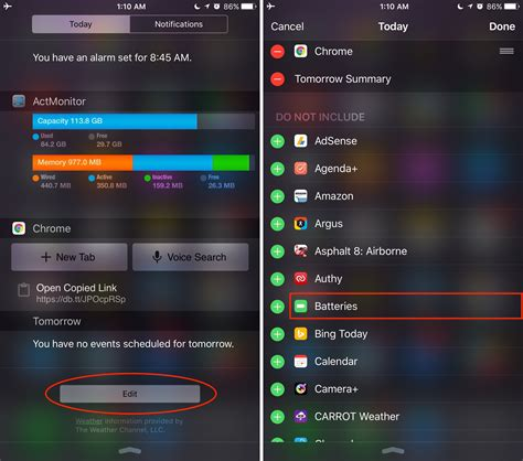 notification center iphone how to monitor batteries of connected devices with ios 9 s