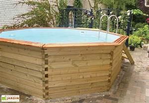 Piscine Bois Ronde : piscine bois hors sol ronde octoo 4 0 400 cm gardipool ~ Farleysfitness.com Idées de Décoration