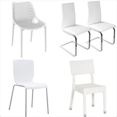 chaises blanches pas cher chaise blanche cuisine comparer les prix et les produits