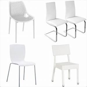 Chaise Blanche Pas Cher : chaise blanche cuisine comparer les prix et les produits avec le guide kibodio ~ Teatrodelosmanantiales.com Idées de Décoration