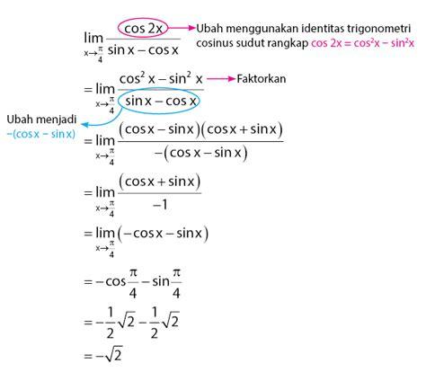 Limit fungsi pengertian bisa dikatakan mendekati hampir, sedikit lagi, atau harga batas. Contoh Soal Matematika Faktorisasi - BangSoal