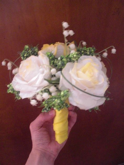 paper rose bouquets weddingbee photo gallery