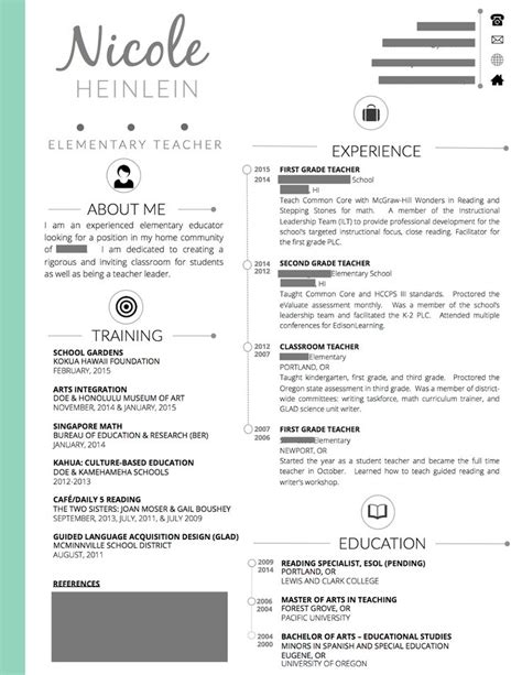 Teaching Resume Template by 18 Best Resume Sles Images On