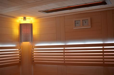 sauna led beleuchtung saunabau bergisch land