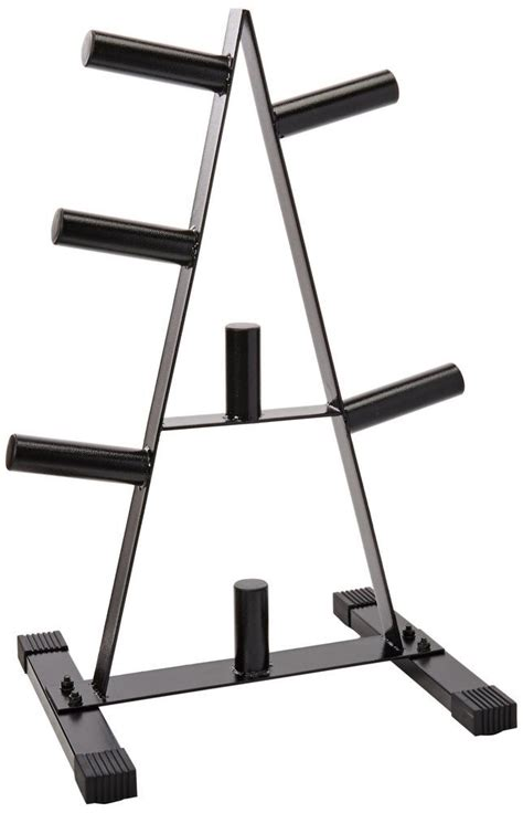 cap  olympic  lb weight plate rack stand tree holder storage  frame plate storage plate