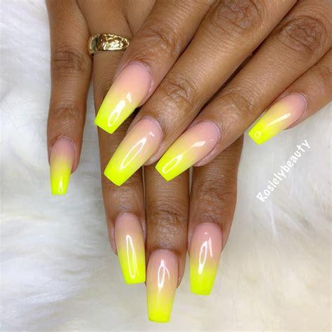 pin  jenny       yellow nails yellow nail