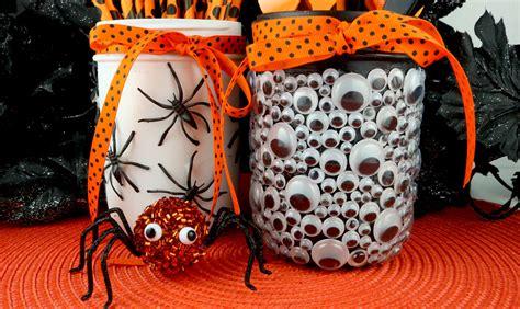 spooky halloween mason jars  sisters