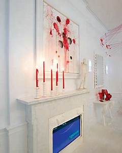 Blood Splatter Decor By Amy Lau