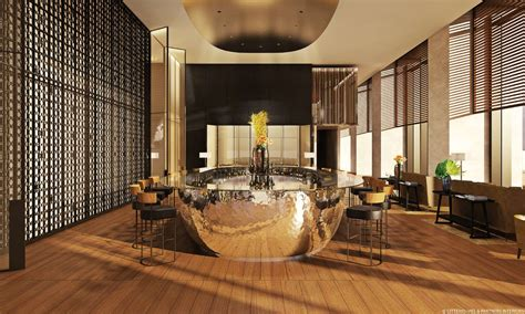 HD wallpapers hotel lobby interior design
