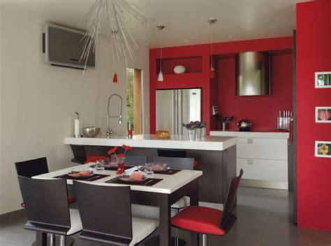 deco cuisine ouverte sur salon les nouvelles cuisines à vivre décoration