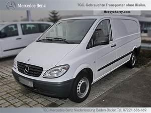 Vito 115 Cdi : mercedes benz vito 115 cdi long 2010 box type delivery van photo and specs ~ Gottalentnigeria.com Avis de Voitures