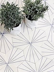 Carreaux De Ciment Hexagonaux : retour carr pour la tomette the blog d co ~ Melissatoandfro.com Idées de Décoration