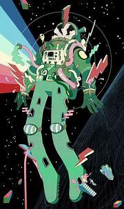 Psychedelic Astronaut Art   Psychedelic Art Designs ...