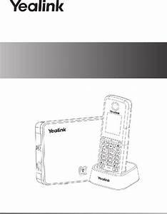 Yealink W52p Telephone Quick Start Manual Pdf View  Download