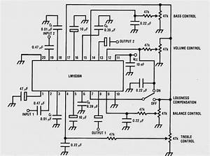 stereo tone control using lm1036 audio amplifier With scosche amp wiring kit with capacitor