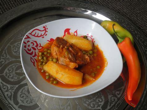 cuisine tunisienne traditionnelle four market jelbana ragout de petits pois cuisinedefarida