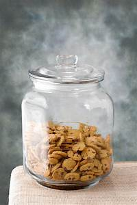Glass, Cookie, Jar, Large, 8, 25, X, 12in