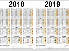 August 2019 Calendar With Holidays UK monthly printable