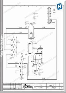 Wirtgen W1000f  W1200f  W1300f Hydraulic Wiring Diagram
