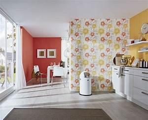 Welche Tapete Für Küche : wohnen mit tapete welcher raum mag welche tapete lelife ~ Markanthonyermac.com Haus und Dekorationen