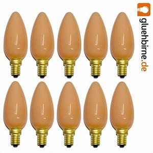 Glühbirne 40 Watt : 10 x gl hbirne kerze softone flame terracotta 40w e14 gl hl ~ Frokenaadalensverden.com Haus und Dekorationen