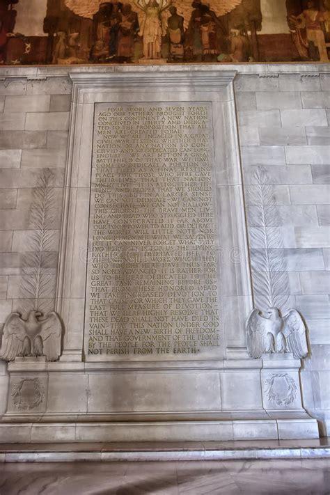 text   gettysburg address   lincoln memorial