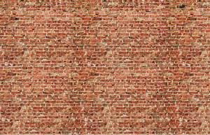 stickers briques rouges autocollant mur pour bureaux With decouper un mur en brique