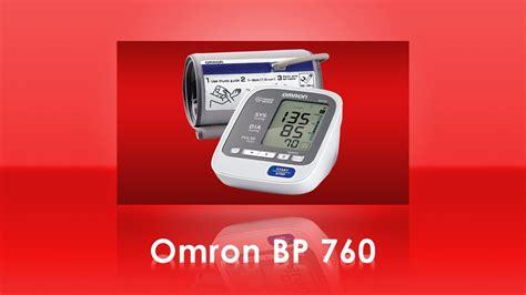Omron BP760 7 Series Home Blood Pressure Monitor - YouTube