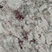 India Moon White Granite Bath Tops Countertops, Moonlight