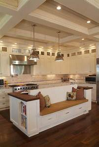 19 must see practical kitchen island designs with seating for Kitchen islands with seating