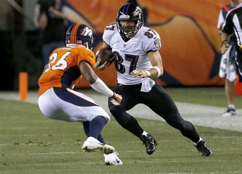Dallas Clark Te Baltimore Ravens Week 2 Fantasy