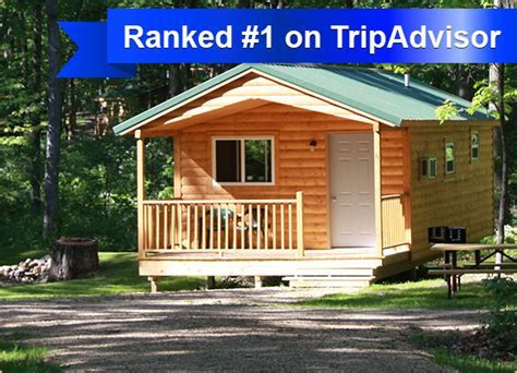 Rent Affordable Camping Cabins in Wisconsin Dells at Fox Hill!