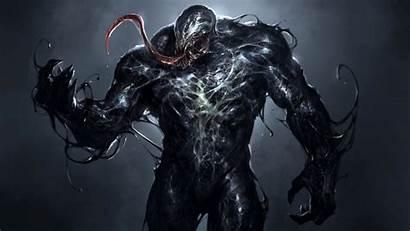 Venom Marvel 4k Dark Comics Villain Uhd