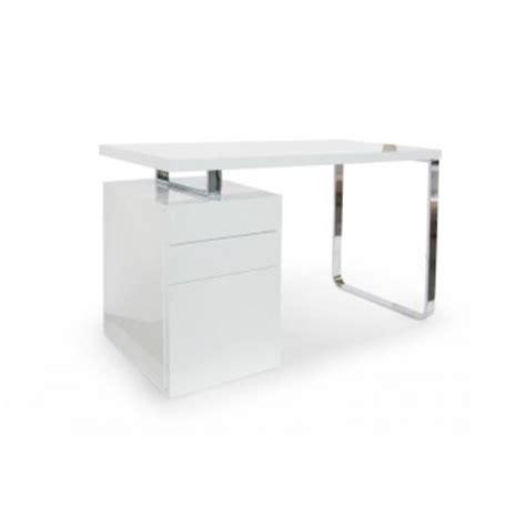 caisson bureau blanc laqué caisson de bureau laque blanc
