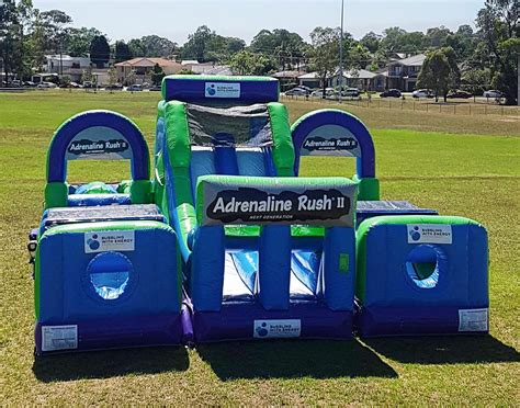 Obstacle Course Hire Sydney  The Adrenaline Rush II