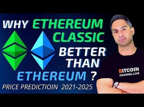 ETHEREUM CLASSIC (ETC) Price Prediction 2021 - 2025 | ETC ...