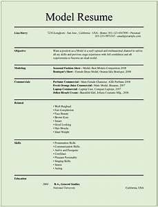 Resume model cv resume template examples for Resume models free download