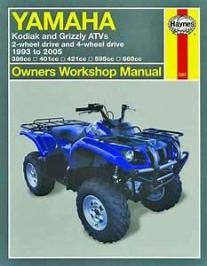 Yamaha Kodiak  U0026 Grizzlys Atvs 1993