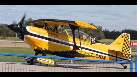 Ultimate Biplane at the Edmonton Airshow 2015 - YouTube