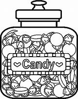 Candy Coloring Pages Printable Sweets Food Bar Colouring Drawing Print Template Lollipop Chocolate Children Donuts Printables Adult Colorful Christmas Books sketch template