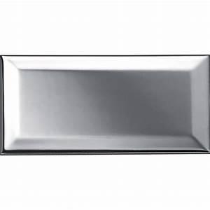 Carreau Metro Blanc : carreau m tro argent l 7 5 x cm leroy merlin ~ Melissatoandfro.com Idées de Décoration