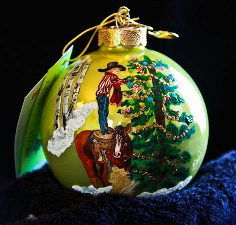 painted hand christmas trees painted ornament boy tree 344 ebay