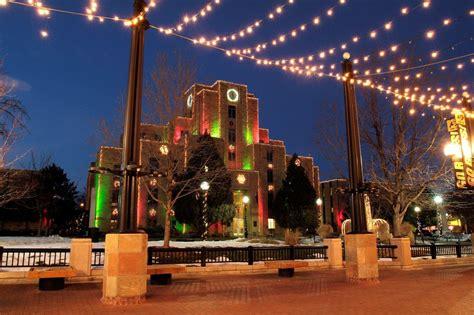 festival of lights colorado springs colorado festivals holiday lighting colorado com