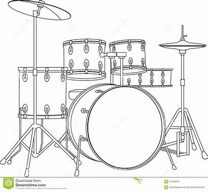 Drumstel Drum Instrument Vrije Fotografie
