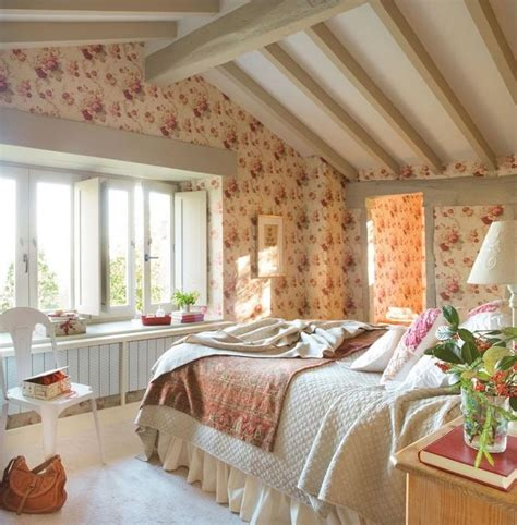 d馗o chambre cocooning design interieur chambre cocooning shabby chic papier